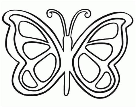 butterfly coloring sheets simple butterfly coloring page coloring home