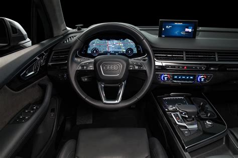 audi suv q7 interior 2017 audi q7 3 0t great adventures automotive rhythms