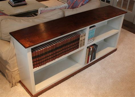sofa table bookcase  design plans jon peters art