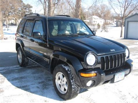 Are Jeep Libertys Reliable Buy Used 2002 Jeep Liberty Limited 4x4 Automatic Loaded