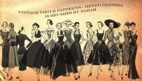 imagenes de outfits vintage vintage vogue brushes by yasha631 on deviantart