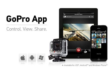 gopro app for android new gopro app for ios and android enhances mobile