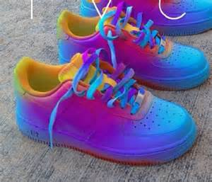 shoes colorful nike air 1 af1 bag nike air