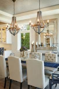 Rustic Dining Table Chandelier Best 25 Dining Room Chandeliers Ideas On Pinterest