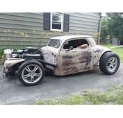 1937 Hot Rod/street Rod Olds Chopped Wild Custom Coupe Rat