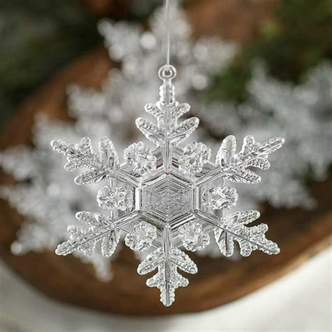 youtubecom were to buy plastic ornaments clear acrylic snowflake ornaments ornaments and winter crafts