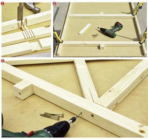 come costruire un gazebo in legno 30 foto descritte