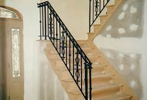 Stair Railing Indoor by Indoor Railing R Amp G Wrought Iron Railing