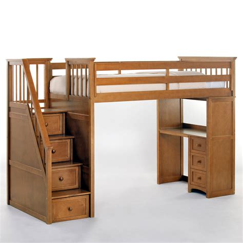 stair loft bed with desk bedroom bedroom loft bed with stairs and desk size