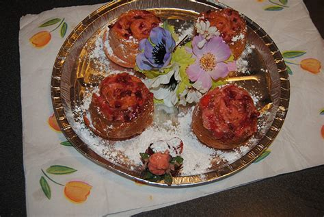 fiori e dolci dolcetti di rosa e cestini di fiori cucinare it