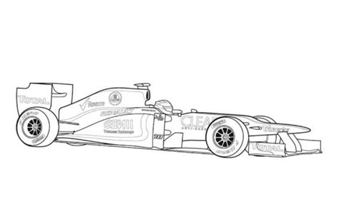 lotus car coloring page lotus 97t f1 classic race car coloring pages free online