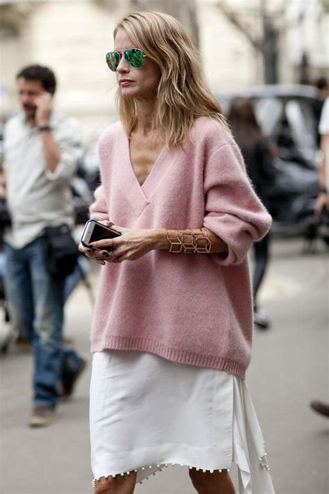 light pink oversized sweater 20 light sweater styles to pop up your looks pretty designs