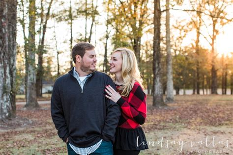 mississippi christmas tree farm engagement session