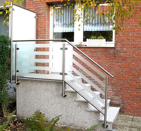 treppengel nder aluminium au en acrylglas f 252 r balkongel 228 nder g nther bedachungen