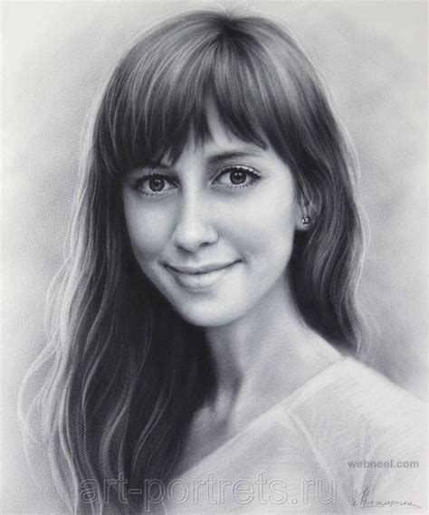 how to draw a portrait 40 beautiful and realistic portrait drawings for your