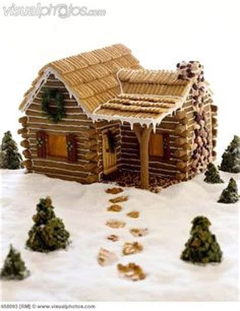 gingerbread log cabin template craft ideas on log cabins