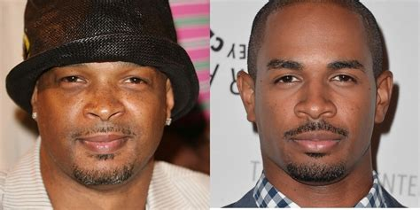 damon wayans with son these 9 celebrities literally stole their faces from their