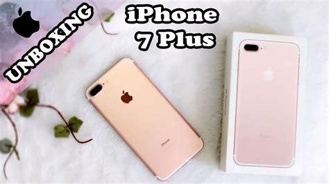 iphone 7 plus unboxing e coment 193 rios