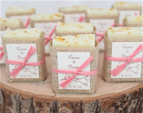 Handmade Favors - 25 rustic soap favors handcrafted baby shower bridal