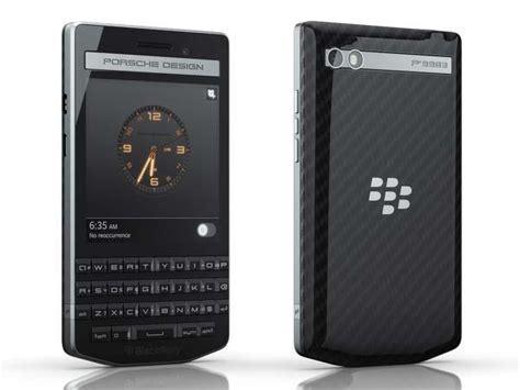 porsche design blackberry p smartphone unveiled