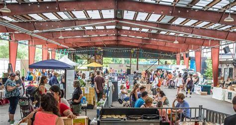 sunday artisan market  evergreen brick works evergreen