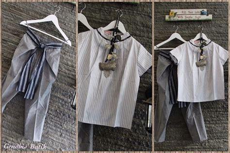 Baju Batik Lurik top batik lurik cullotes by gendhis s batik sewing projects tops