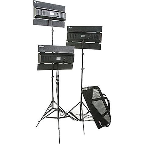 3 point lighting kit digital juice aura three point lighting kit flor1 kit1 b h