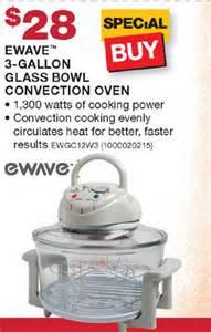 walmart black friday 2013 ewave 3 gallon glass bowl convection oven blackfriday fm