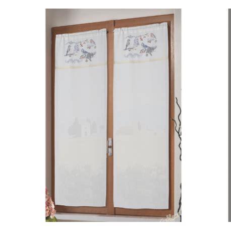 tende brico casa coppia tende tendine costa smeralda uccellino 60x150 cm