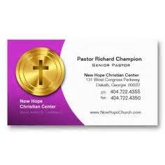 Free Pastor Business Card Templates by Business Cards For Pastors On Business Cards