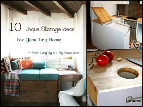 tiny house storage solution tiny house pinterest 10 unique storage ideas for your tiny house living big