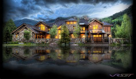 Good Pictures Luxury Mansions #5: Aspen-Mansion-Fantasy-Photograph.jpg