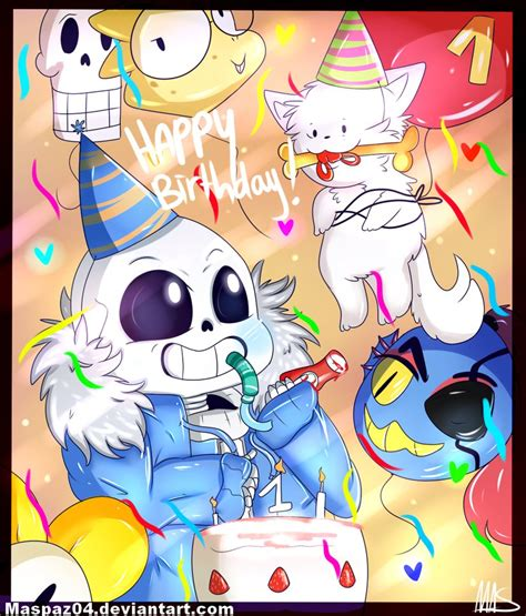 happy birthday undertale by zudix on deviantart happy birthday undertale by maspaz04 on deviantart