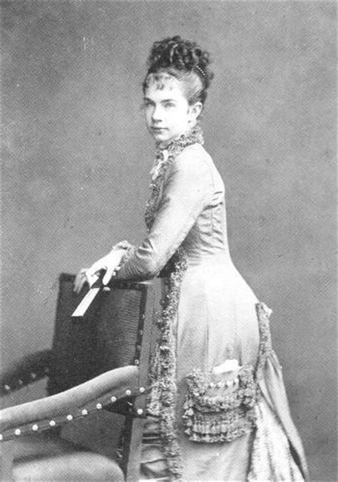 Gisela standing in mid 1870s day dress | Grand Ladies | gogm