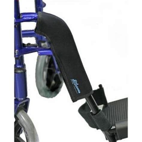 chair foot rest protectors gel ovations wheelchair footrest wraps leg rest gel pad