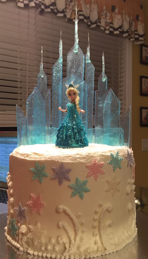 elsas ice castle frozen cake madam mixalot