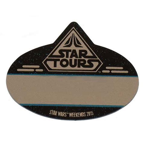 wars tags your wdw store disney name tag id wars weekends 2015 passholder exclusive
