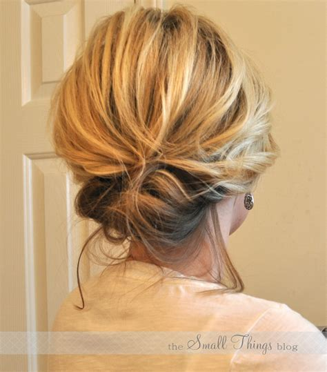 up do the chic updo the small things blog