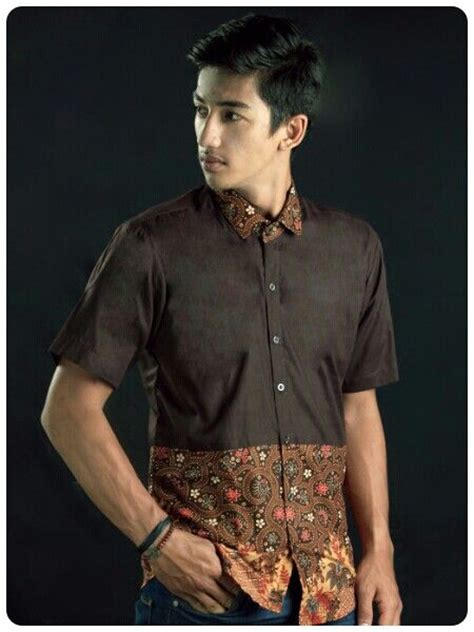Kemeja Cowok Pria Batik Songket Hitam Kombinasi Polos 1 753 best s fashion images on clothes and wear