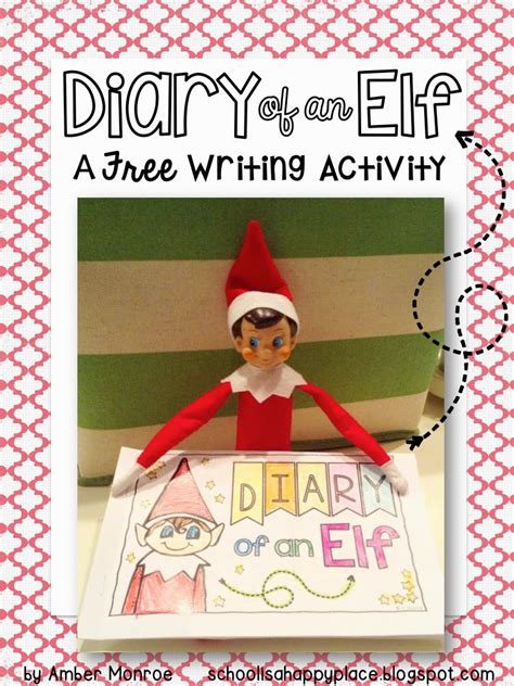 On The Shelf Writing Activity by Primary Powers Diary Of An A Free Writing Activity