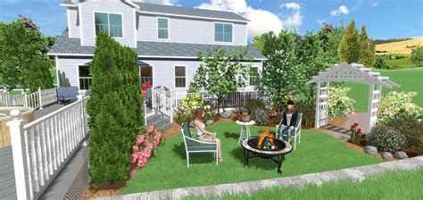 virtual outside home design how to use landscaping design software to visualize ideas better