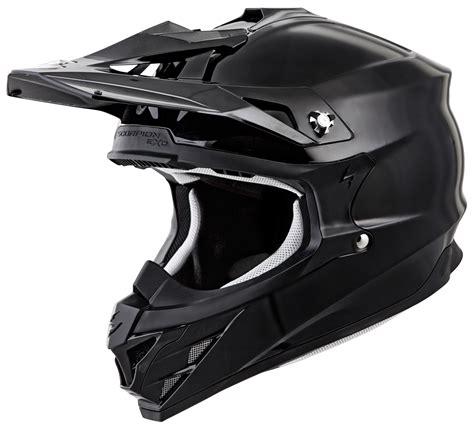 black motocross helmets scorpion vx 35 helmet solid revzilla