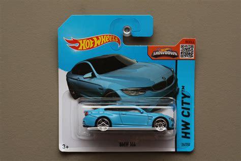 Hotwheels Hw Bmw M4 wheels 2015 hw city bmw m4 blue