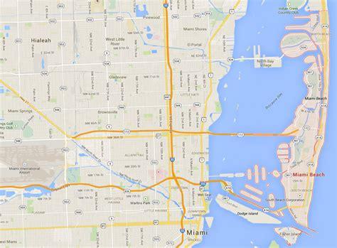 miami map usa miami florida map
