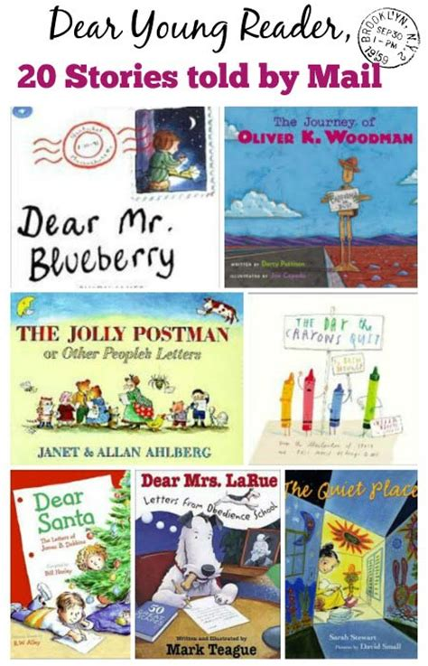 i told you books 20 picture books about mail getting letters edventures