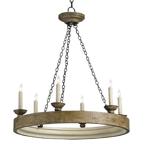 Lodge Chandelier Smokewood Rustic Lodge Crackle 6 Light Chandelier Kathy Kuo Home