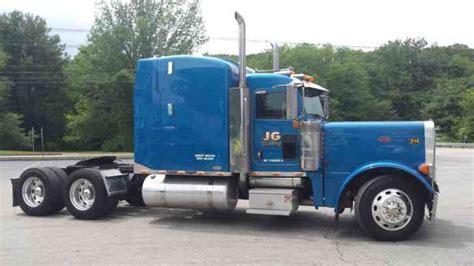Semi Truck With Sleeper by Peterbilt 379 2007 Sleeper Semi Trucks