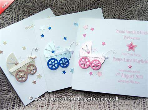 New Baby Handmade Cards - precious handmade new baby card