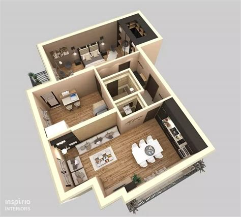 turn floor plan into 3d model modern apartments and houses 3d floor plans different models