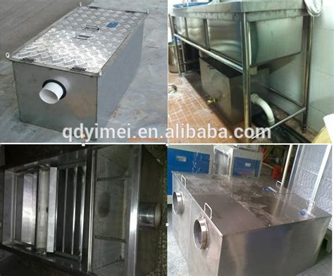 oil and grease trap for restaurant wastewater buy oil water separator oily wastewater mix grease oil